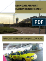 Land Transport Requirements of Laguindingan Airport by LTFRB 10