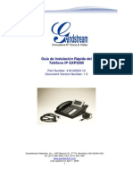 Gxp2000 Quickinstall Guide Es