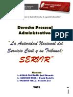 AUTORIDAD NACIONAL DEL SERVICIO CIVIL-PERÚ-SERVIR