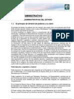 Lectura 1. Derecho administrativo. Función administrativa Sujetos
