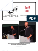 Durham Skywriter — April 2013
