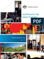 """Asian Century"" Strategic Implementation Plan"