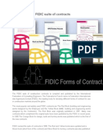 Introduction to FIDIC Suite of Contracts