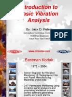 Introduction to Basic Vibration Analysis