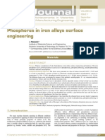F in Surface Alloy Engineering