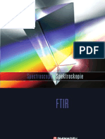 SHIMADZU FTIR SPECTROPHOTOMETER