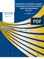 2012-2013 Online Compendium