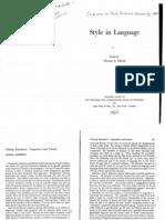 JakobsonLinguistics&Poetics
