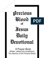 Precious Blood of Jesus