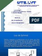 15438385 Ley de Schmid y Limites de Grano