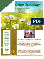 April 14 Newsletter