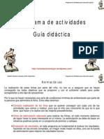 Guia Didactica Programa de Actividades Para Educacion Especial