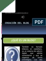 Creaci�n del blog1.ppsx