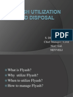 Flyash Utilization and Disposal