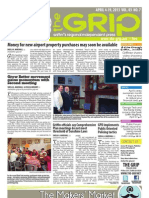 April 4, 2013 edition of The Grip