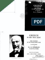 Venizelos-Greece in Her True Light