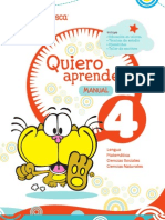MANUAL 4TO Quiero Aprender