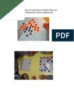 Estes jogos de damas com materiais reciclados fazem um sucesso e ajudam a desenvolver várias competências