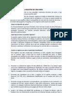 Requisitos Para El Registro Derechos de Autor