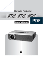 Canon Lv 7225 Manual