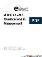 Level 5 Management Specification