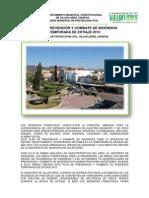 Plan de prevención y combate de incendios 2013