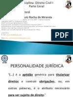 2 Aula 2 - Direito Civil i - Parte Geral - Pessoa Natural