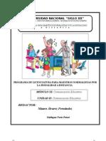 Modulo Xi Unidad II Comunicacion Educativa