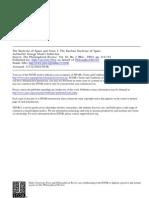 Fullerton - Kantian Doctrine of Space I