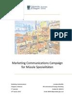 Marketing Communications Assignment