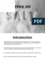 market research on salt