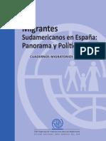 OIM Migrantes Sudamericanos en Espana No1