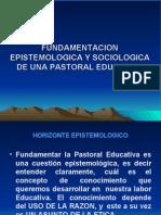 Una Reflexion Epistemologica y Sociologia