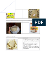 Tipos de Tortilla
