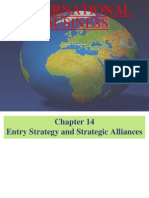 Entry Strategy and Strategic Alliance