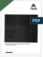 Informe Financiero Presupuestario 2012