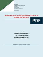 Importancia Ia en La Formacion d.- Grupo Norte-19 Sep
