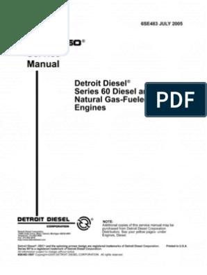 Detroit Series 60 Jake Ke Wiring Diagram. . Wiring Diagram on