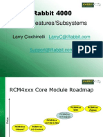 Rabbit- Overview of the Rabbit 4000 Product Line & Dynamic C Software