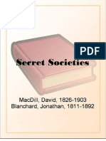 Secret Societies - MacDill, David