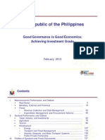 Good Governance is Good Economics 2013 Feb