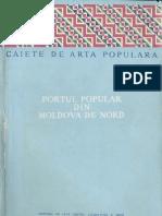 Florescu F B Portul Popular Din Moldova de Nord
