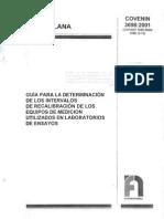 36982001, (Copant 16892000 OIML D-10) - 2001 - Guía para la determinación de los intervalos de recalibración de los equipos de medición utilizados en los laboratorios de ensayos