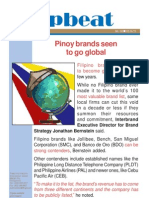 Upbeat No._04_Pinoy Brands Seen to Go Global