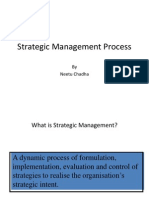 Strategic Mgt. Process