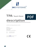 NOX TPA E Description
