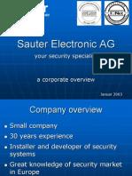 Sauter Electronic AG-Englisch
