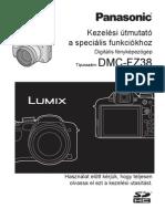 Panasonic Lumix FZ38 Kezelesi Utmutato Specialis Funkciokhoz