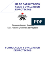 Formulacion de Proyectos - Ultima Version