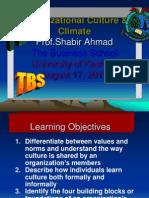 Org Culture Climate